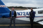 Rahim Adi-Darko - Private Pilot Will Darragh - Instructor