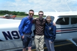 Aaron Vrooman - CFI Single Jerrad Pennington - Instructor Zenda Leiss - FAA Examiner