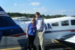 Ryan Pinto - Private Pilot Kristi Gallman - Instructor