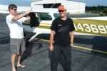 Phil Norris - 1st Solo Jerry Murdock - Instructor